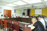 9月20日,县司法局党支部召开支部换届选举暨预备党员转正大会